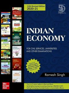 Indian Economy- 12th Edition (In English) by Ramesh Singh
